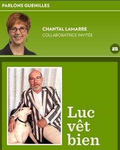 Entete LaPresse LucVetBien